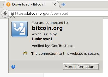 Verify secure connection